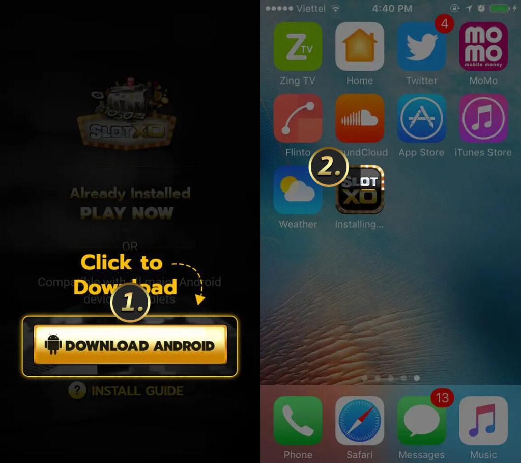 ดาวน์โหลด สล็อต iOS